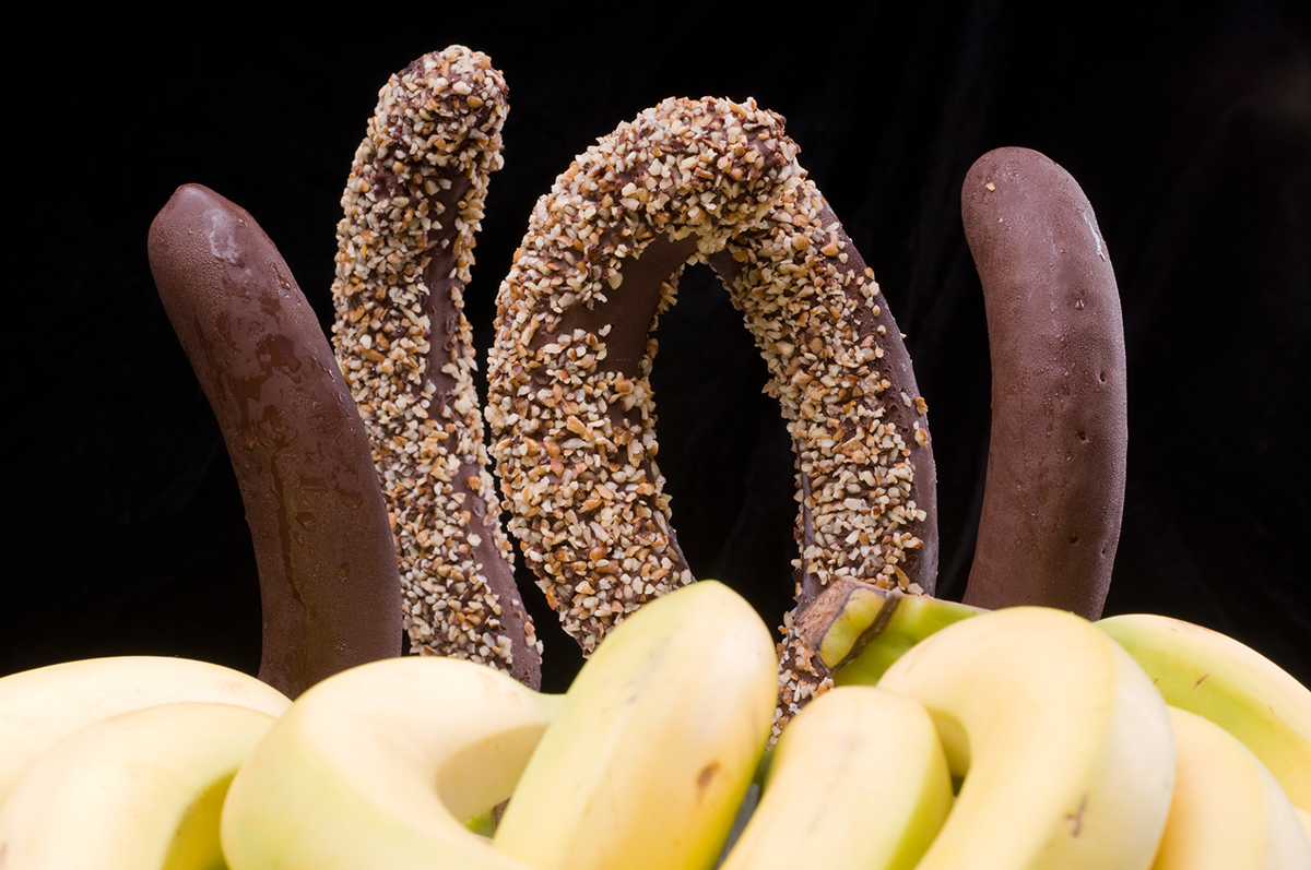 Whetstone Chocolate covered bananas