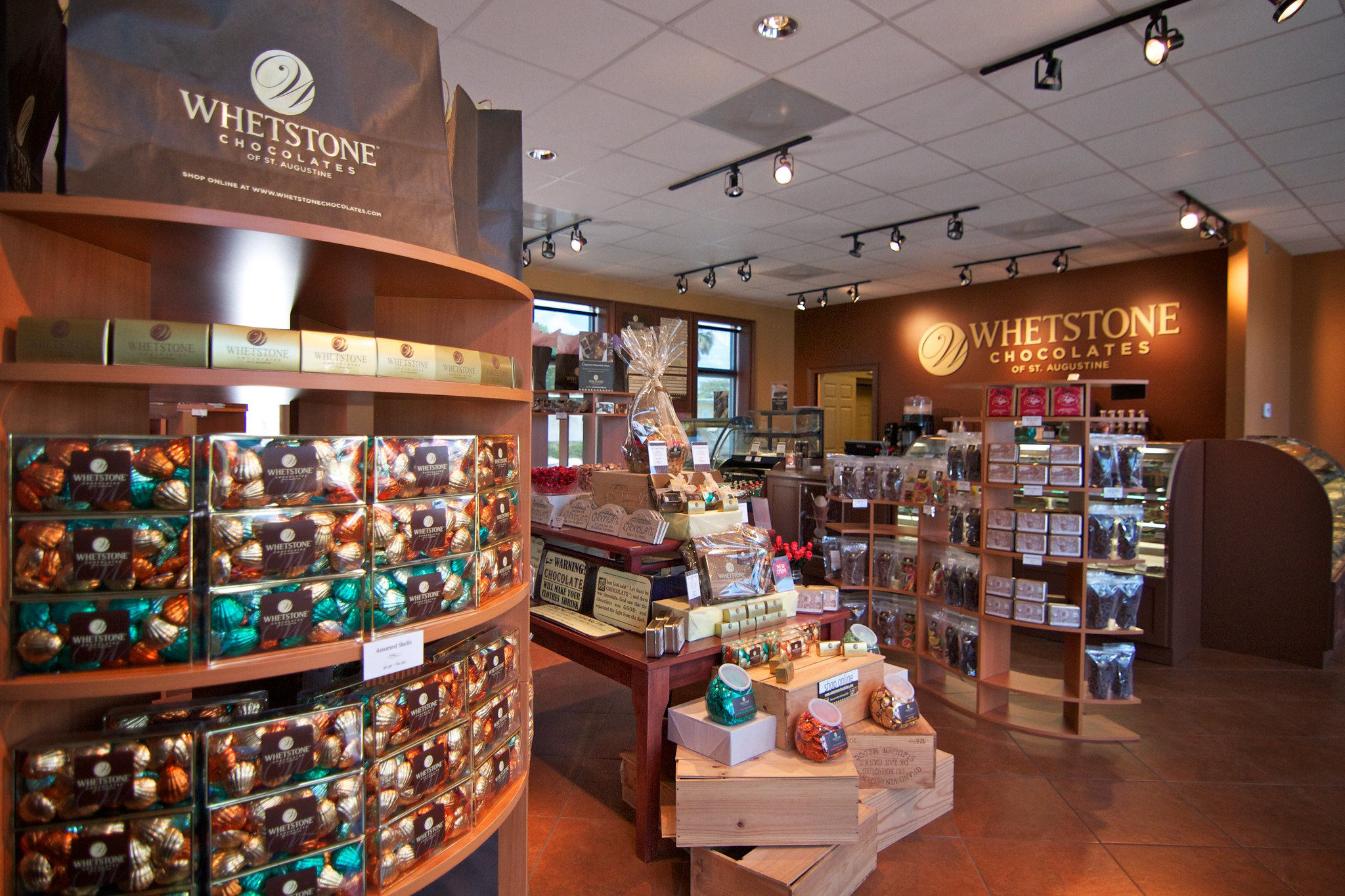 Inside the Whetstone Chocolate Shop