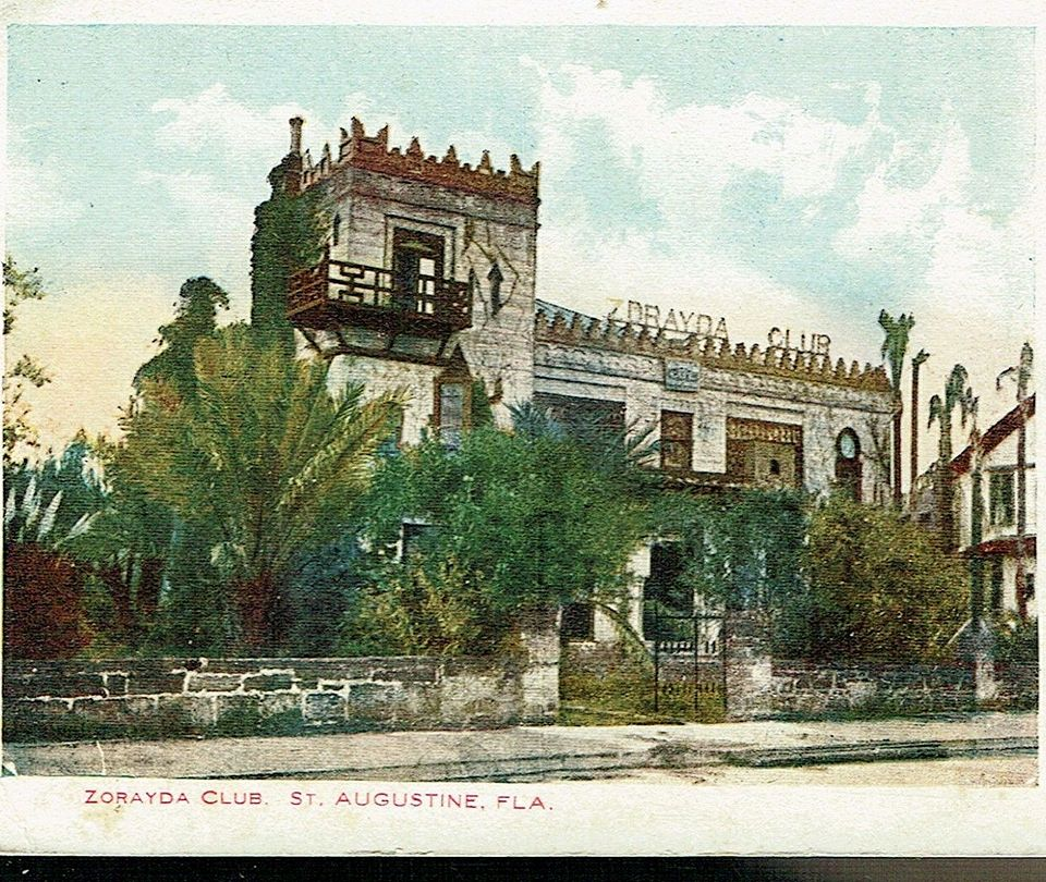 Historic photo of Villa Zorayda before it turned into a museum
