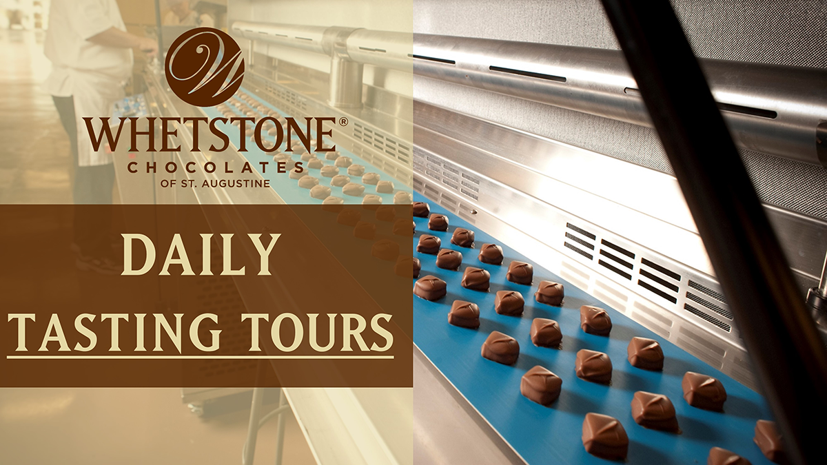 Whetstone Chocolate Factory Daily Tasting Tours Logo