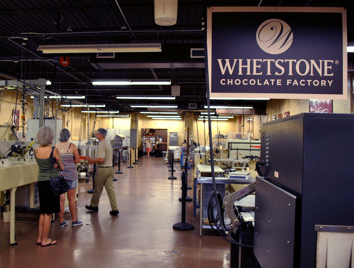 Inside the Whetstone Chocolate Factory
