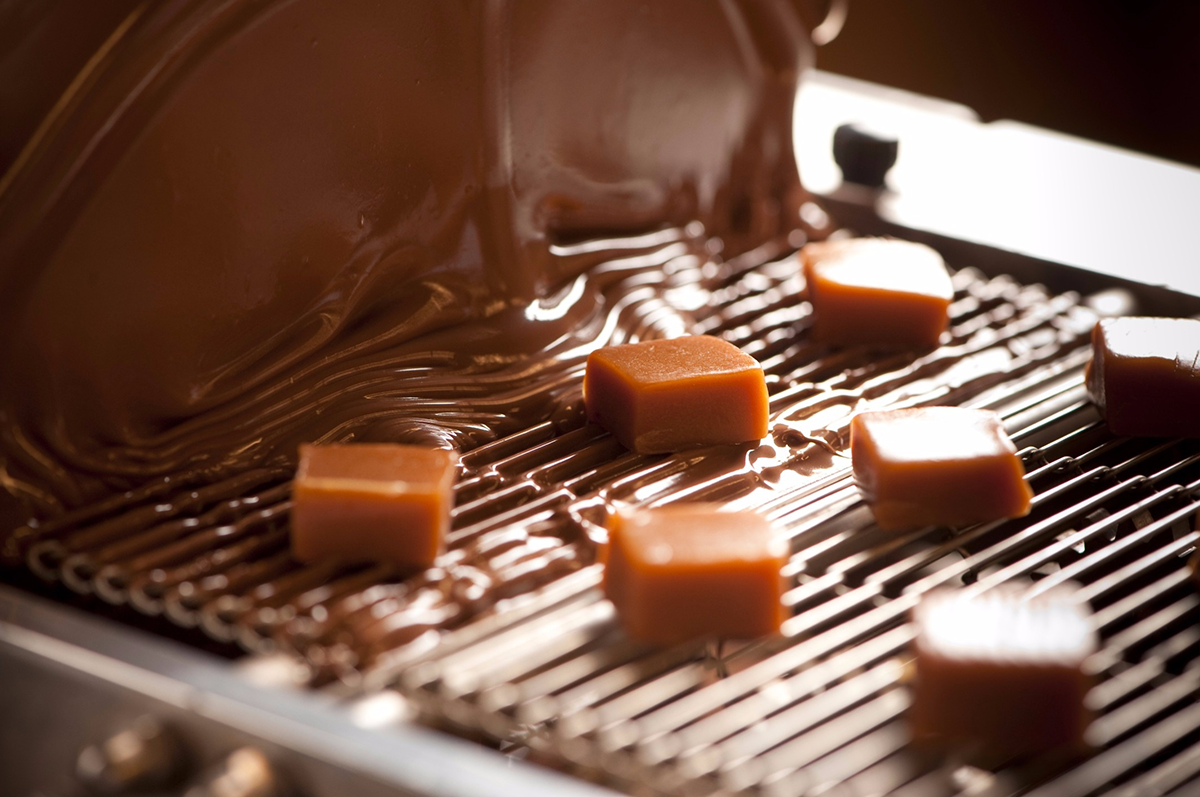 Whetstone Chocolate being made in the factory