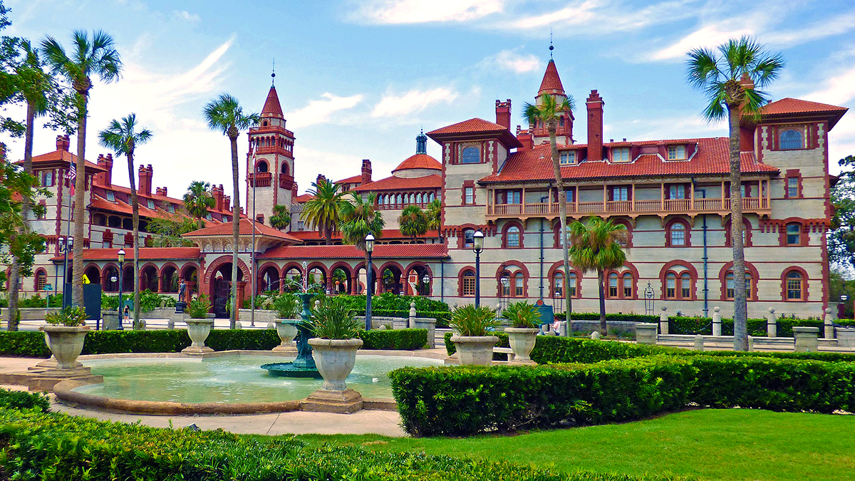 Newly dated photo of Flagler Campus formerly Ponce de Leon Hotel